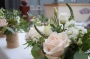 Close up of flower arrangement