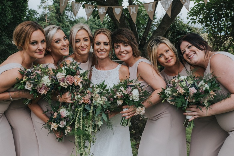 wedding flowers. Bouquets. Summer wedding